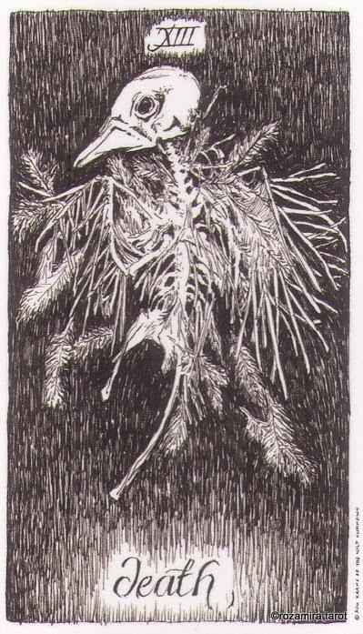 13 аркан таро — Смерть (Death)