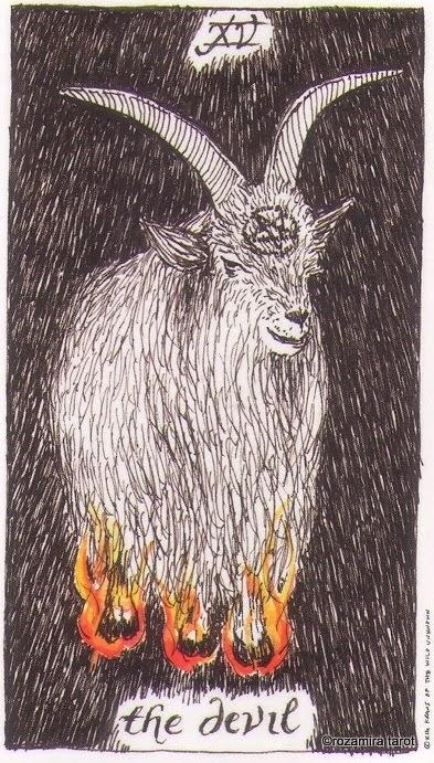 15 аркан таро — Дьявол (The Devil)