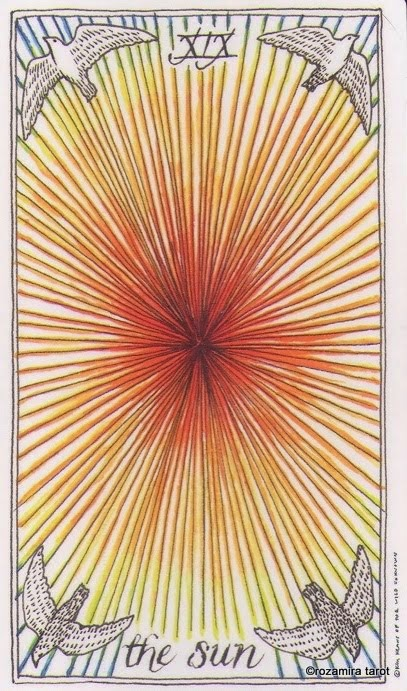 19 аркан таро — Солнце (The Sun)