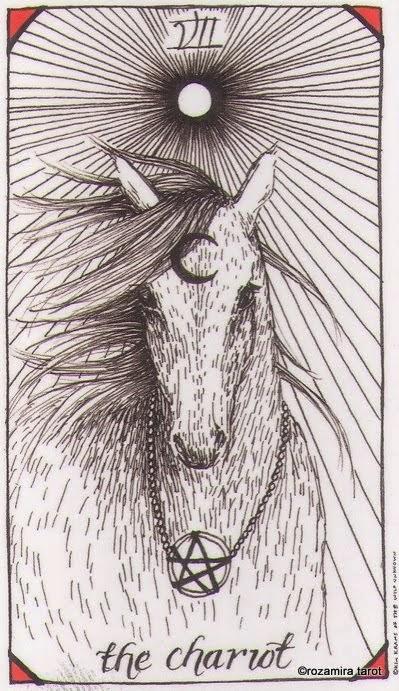 7 аркан таро — Колесница (The Chariot)