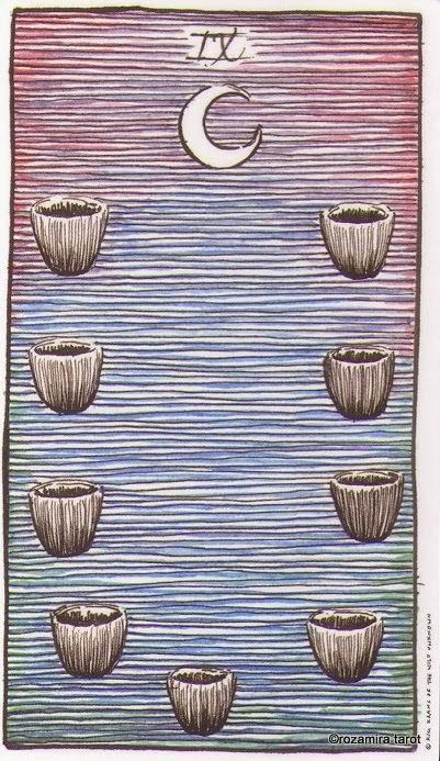 Девятка Кубков (Nine of Cups)