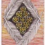 Девятка Пентаклей (Nine of Pentacles)