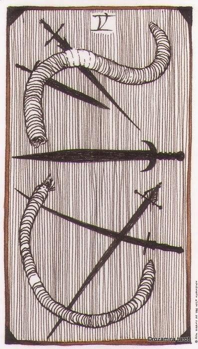 Пятерка Мечей (Five of Swords)