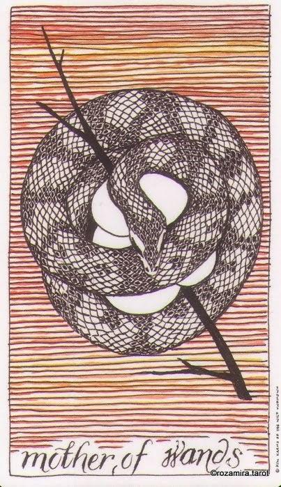 Мать Жезлов (Mother of Wands)
