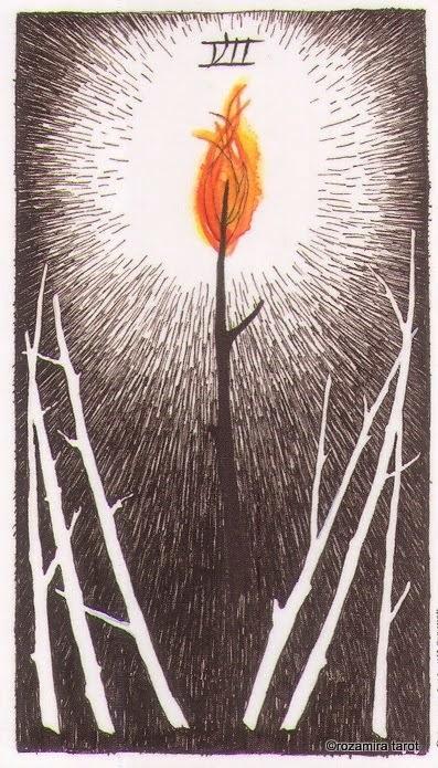 Семерка Жезлов (Seven of Wands)