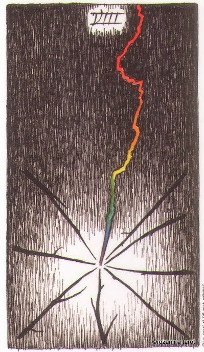 Восьмерка Жезлов (Eight of Wands)